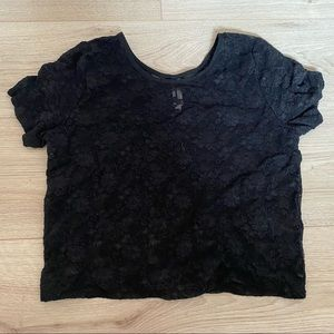 Sale See through lace t shirt 5$
